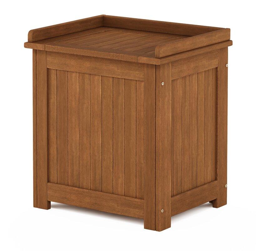 Furinno Tioman Outdoor 1 Gallon Solid Wood Deck Box