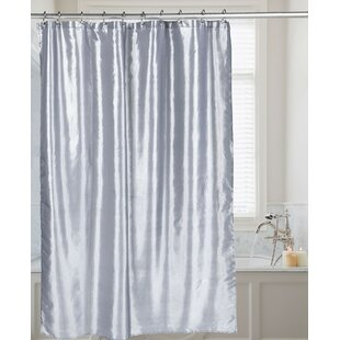 Silver Shimmer Shower Curtains