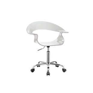 Robbyn Acrylic Height Adjustable Active Stool
