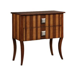 Bourke 2 Drawer Chest by World Menagerie