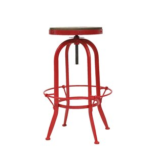 Mccracken Height Adjustable Swivel Bar Stool By Williston Forge