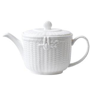 Nantucket Basket 1.05-qt. Teapot