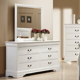 Daleyza 6 Drawer Wood Dresser by Alcott Hill®