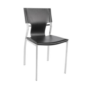 Poplin White Upholstered Dining Chair Orren Ellis