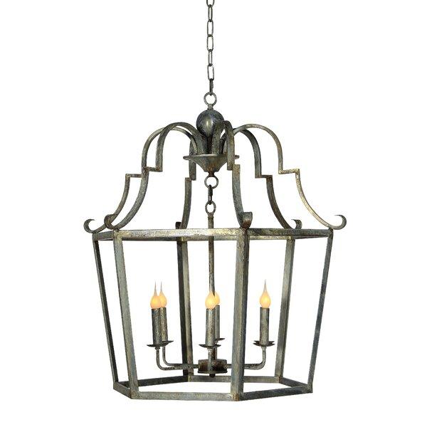 Ellahome 6 Light Lantern Geometric Chandelier Wayfair