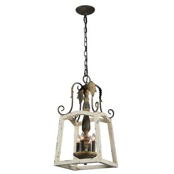 Ophelia Co Diggs 1 Light Single Globe Pendant With Wrought Iron Accents Wayfair