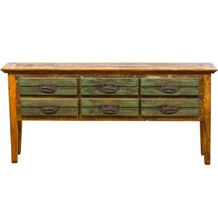 Loon Peak Orman 6 Drawer Console Table