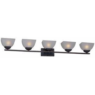 Best Price Mcshan 5-Light Vanity Light By Ebern Designs