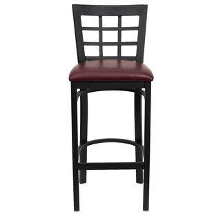 Mapilton Bar Stool (Set Of 2) by Charlton Home Bargain