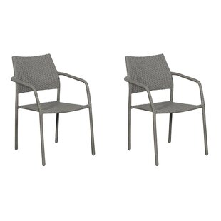 Maynor Stacking Garden Chair (Set Of 2) By Sol 72 Outdoor
