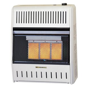 Dual Fuel Ventless 20 000 Btu Natural Gas Propane Infrared Wall Mounted Heater