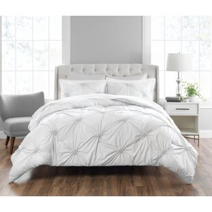 Pintucked Reversible Comforter Set by Nicole Miller