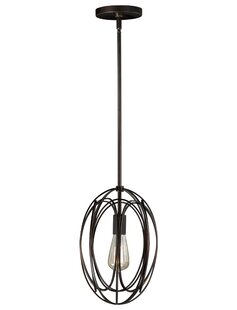 Cahoon 1-Light Globe Pendant by Wrought Studio