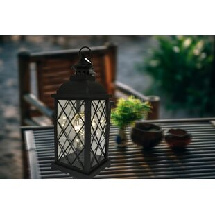 Priscila Battery Operated 1 Light Led Outdoor Hanging Lantern