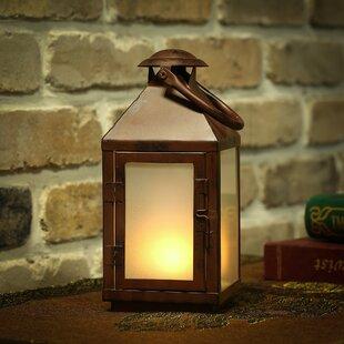 Winsome House Flaming Lights LED Lantern