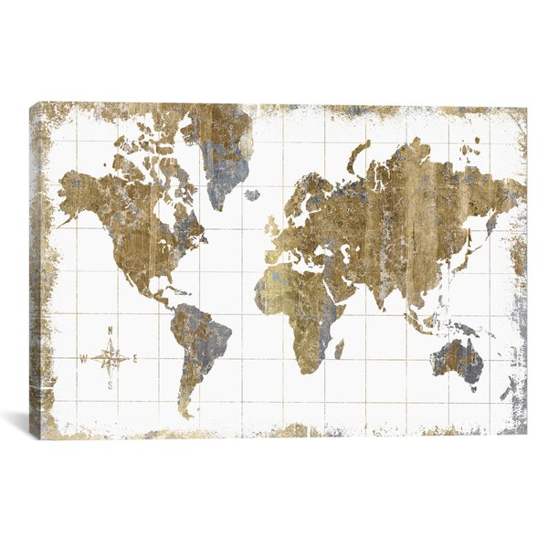 8d752e259d Map Wall Art You ll Love