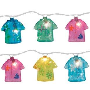 Brite Star 10-Light 11 ft. Shirt String Lights (Set of 2)