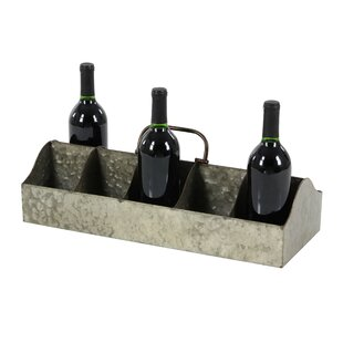 Osterley Iron 10 Bottle Tabletop Wine Rack by Gracie Oaks