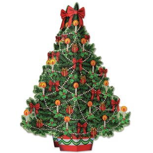 3 d christmas tree centerpiece - Tabletop Christmas Trees