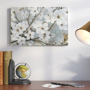 Superb Cherry Blossoms I Painting Print On Wrapped Canvas