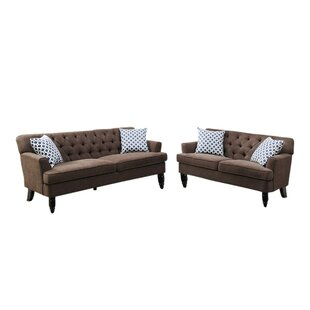Affordable Lago Vista Velveteen 2 Piece Living Room Set by Alcott Hill Reviews (2019) & Buyer's Guide