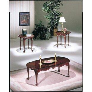 Astoria Grand Revels 3 Piece Coffee Table Set