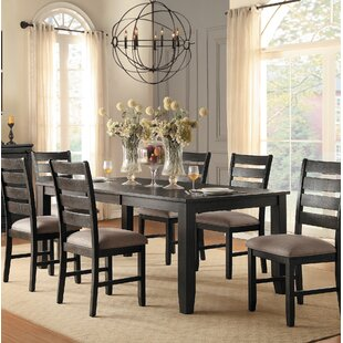 Abagail Extendable Solid Wood Dining Table
