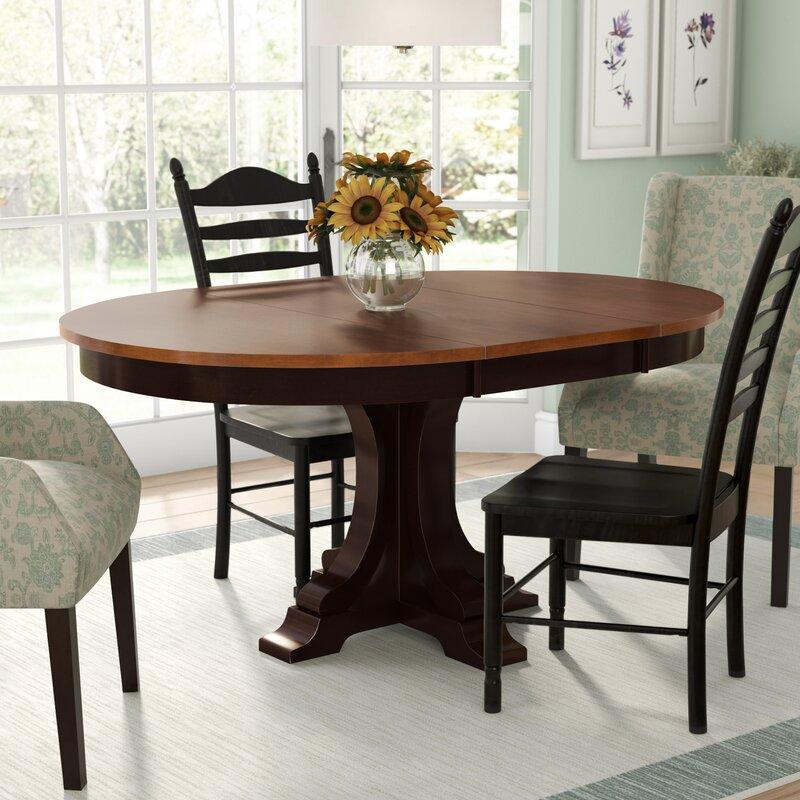 Alcott Hill Alisha Extendable Dining Table Reviews Wayfair Ca