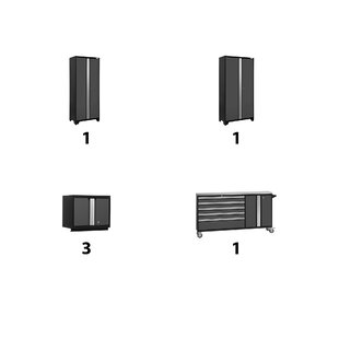 Bold 6 Piece Complete Storage System by NewAge Products