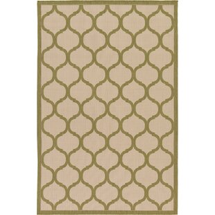 Vivian Beige Indoor/Outdoor Area Rug