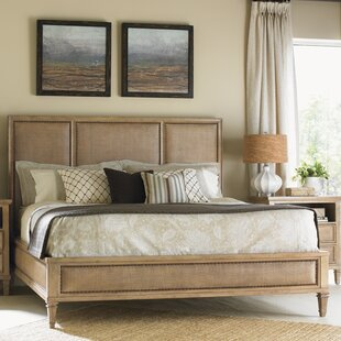 Monterey Sands Upholstered Panel Bed