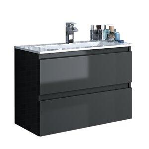 Linebath 62 cm Wandbefestigter Waschtisch Essence