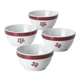 Texas A&M Melamine 8 fl oz. Nut Bowl (Set of 4) by CollegeKitchenCollection
