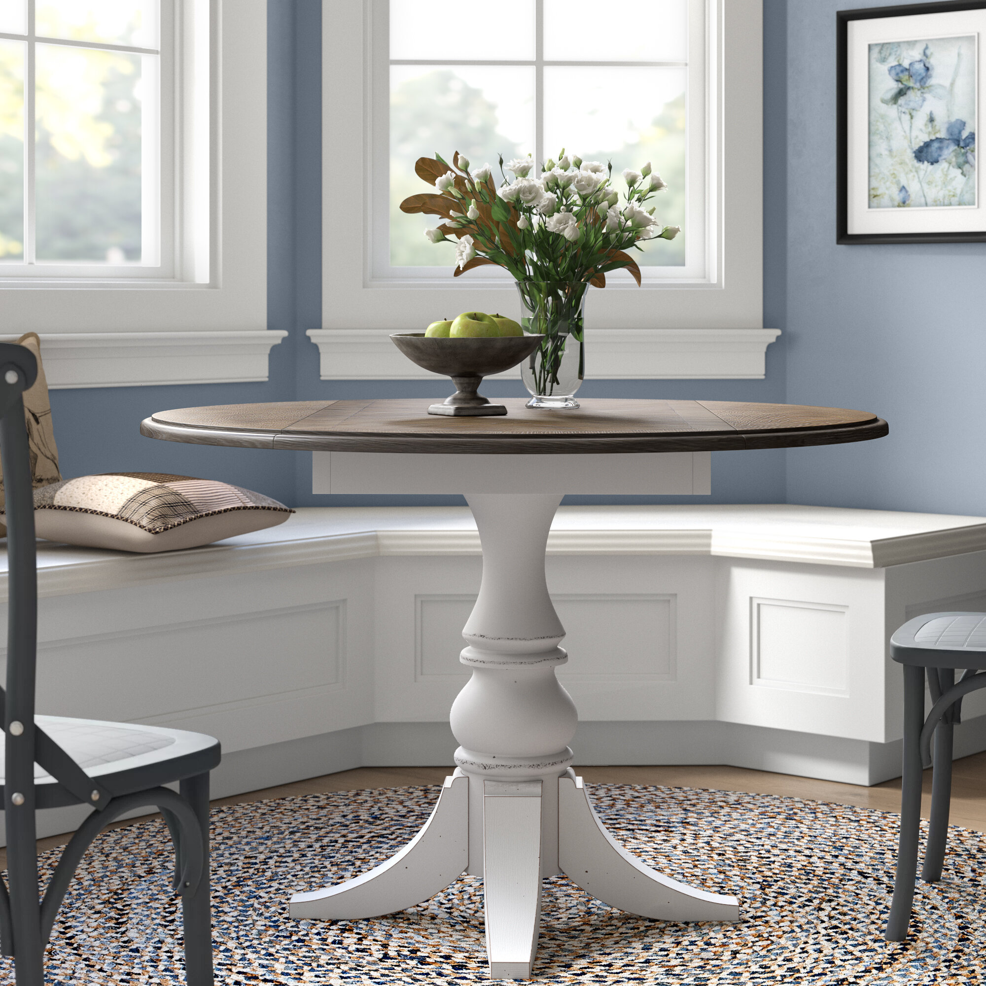 Ophelia Co Tiphaine Drop Leaf Dining Table Reviews Wayfair Ca
