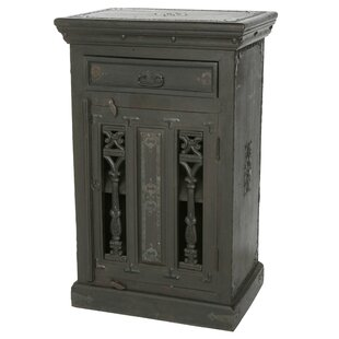 Pepe Single Door Accent Cabinet by World Menagerie