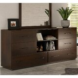 Fantasia 6 Drawer Double Dresser by VIG Furniture