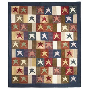 Patch Magic Home Spun Star Cotton Quilt