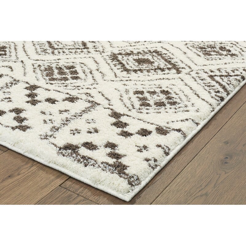 Lowes Led Christmas Lights 11-24-2020 World Menagerie Lowes Casual Ivory Area Rug | Wayfair