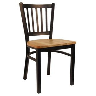 Vertical Solid Wood Dining Chair by H&D R..