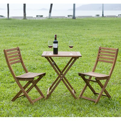 3 Piece Bistro Set by HRH Designs