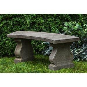 Nice Zimelman Cast Stone Garden Bench