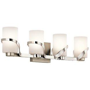 Latitude Run Ridgley 4-Light Vanity Light
