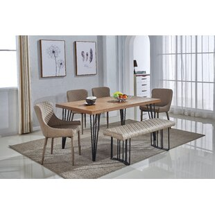 Dupont 6 Piece Dining Set Mercury Row