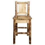Southborough Solid Wood 24Counter Stool by Loon Peak®