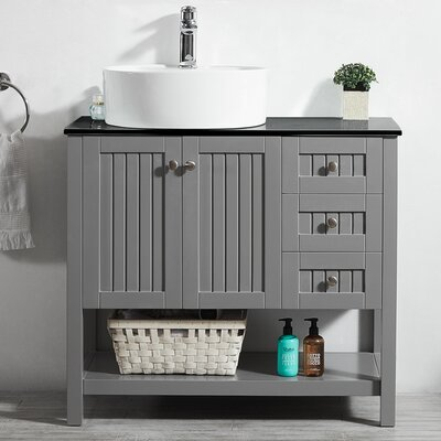 Farmhouse Amp Rustic Single 36 Inch Vanities Birch Lane