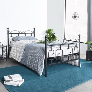 Cortes Twin Platform Bed by Trule Teen