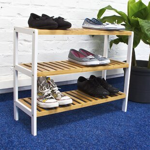 Bamboo Shoe Rack By Brambly Cottage