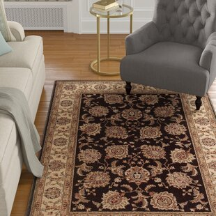 Online Reviews Coleen Black/Beige/Brown Area Rug By Charlton Home