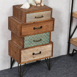 Burhardt Chic 4 Drawer Accent Cabinet by Bloomsbury Market