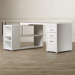 Drewes 3 Drawer L-Shaped Desk